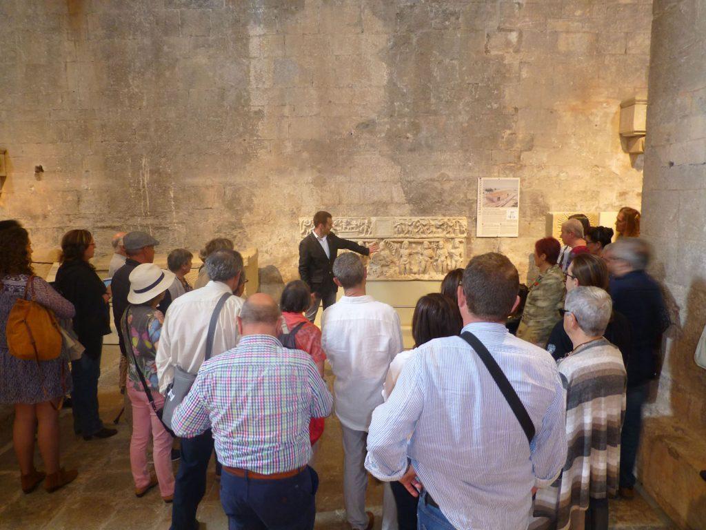 Figura 9: Participants en visites guiades de la col·lecció permanent, 2016. (Arxiu MAC-Girona)