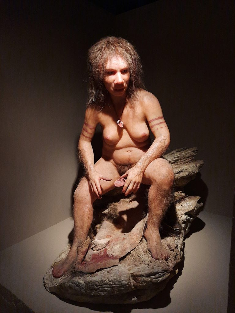 Figura 2. Dona de neandertal