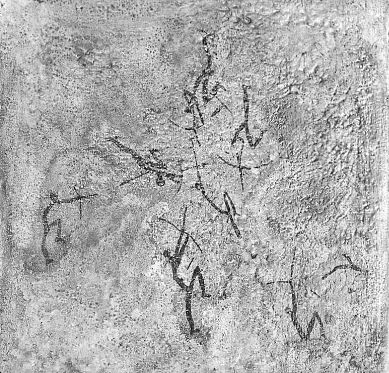Morella la Vella (Morella, Castelló). Escena de batalla. Obra desapareguda. MAC. Arxiu Històric i Fotogràfic