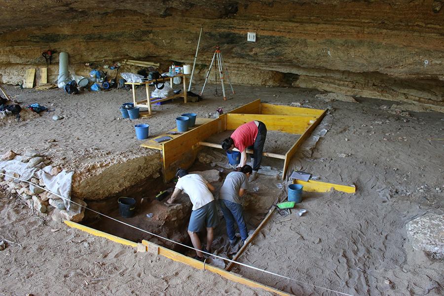 Procés d'excavació (campanya 2019)