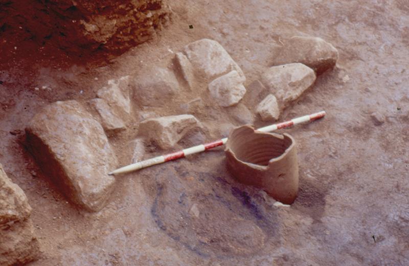 Fig. 21. Excavacions del col·lector. Forn metal·lúrgic