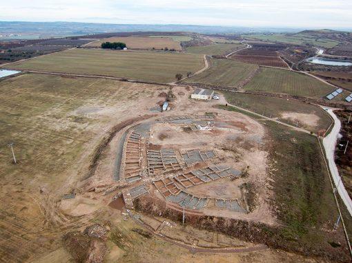 Vista aèria del Molí d'Espígol (2014); foto MAC.