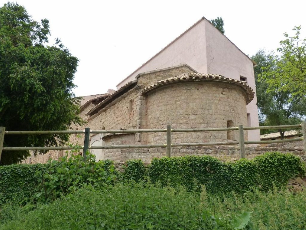 Vista actual del santuari de la Mare de Déu de Bonrepòs