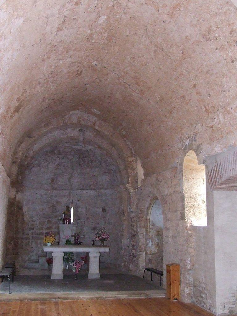 Interior del santuari de la Mare de Déu de Bonrepòs